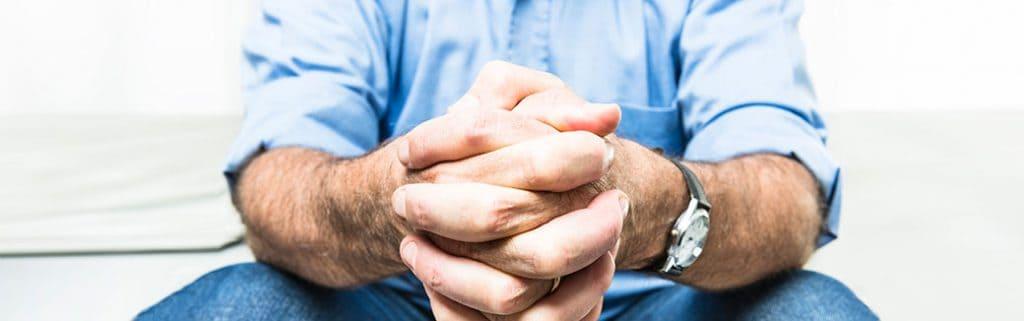 Man who prays