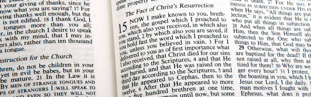 believing the gospel